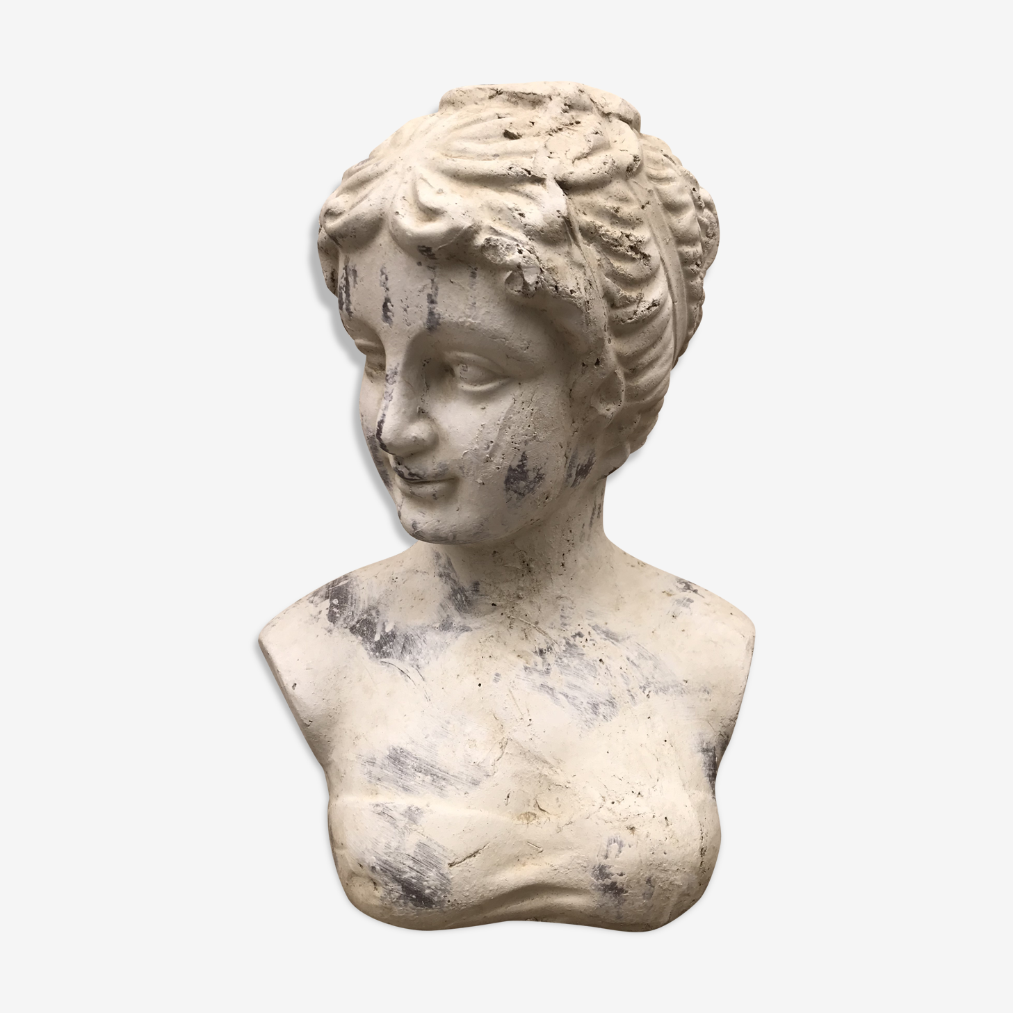 Bust of woman antique