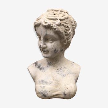 Buste de femme antique