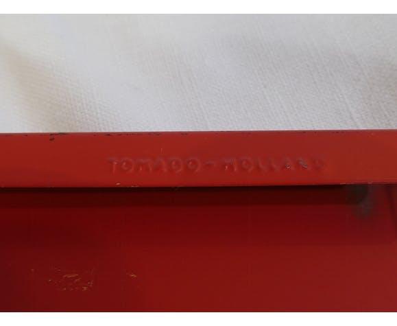 Étagère string métal Tomado Holland vintage scandinave. modèle de Adrian Dekker de la fin des années 50