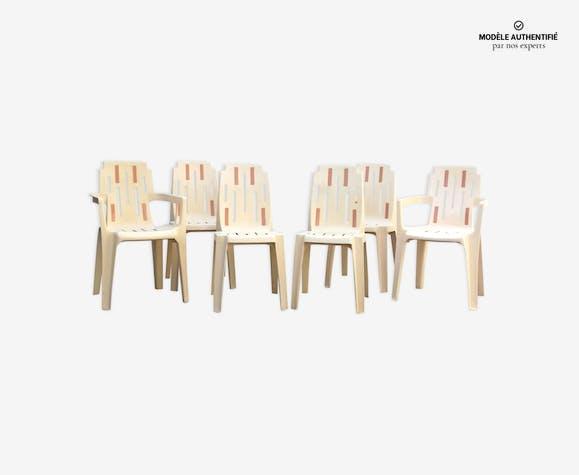 Chaises et fauteuils de jardin Pierre Paulin - plastique ...