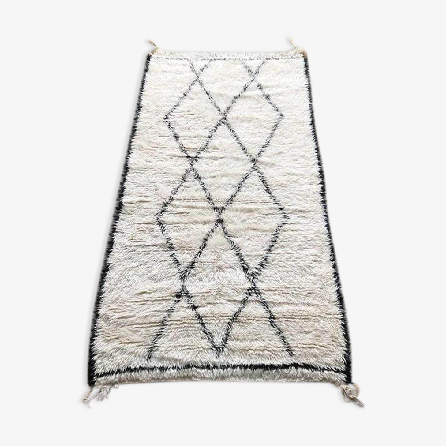 Beni ouarain carpets 220x120cm - 100% wool