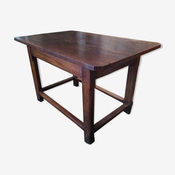 The 19th century wooden Provencal table