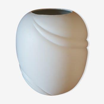 Vase en porcelaine blanc mat  Royal KPM Bavaria