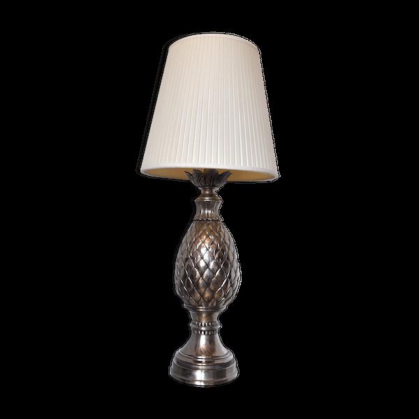 Lampe de table ananas années 70