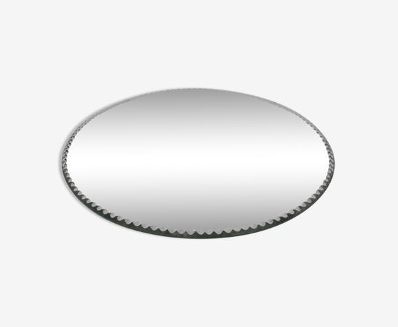 Mirror beveled plate