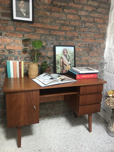 Teak desk from the 1960s
