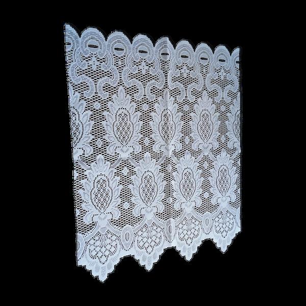 Napperon blanc, 47x57cm.