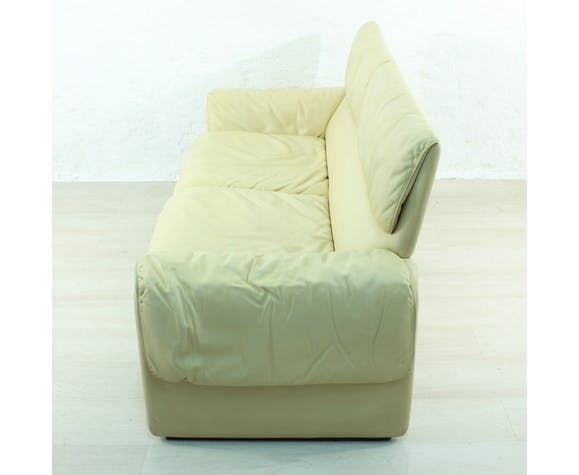 Swiss leather sofa DS 2011 for De Sede