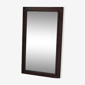 Miroir encadrement en bois massif 85 x 137 cm