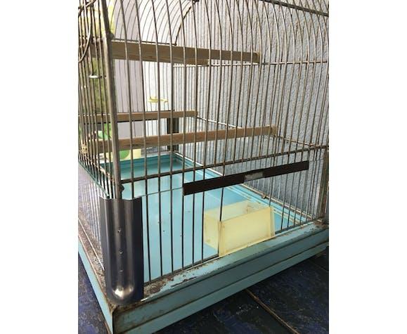 Cage à oiseaux vintage