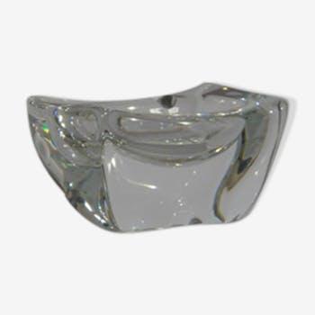 Cendrier cristal Daum France années 70