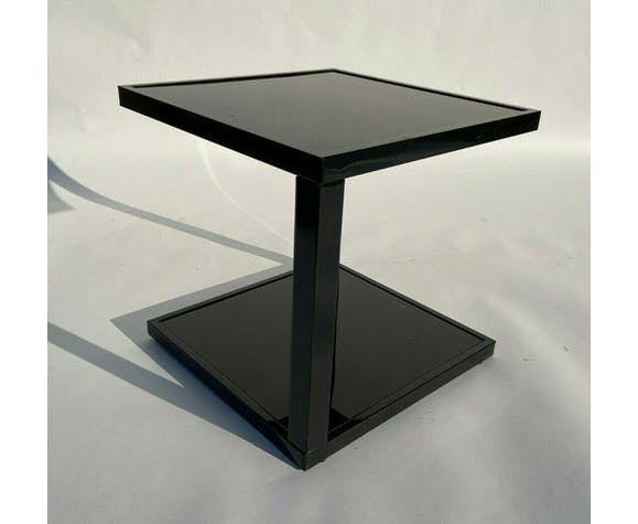 Table basse noire 1980