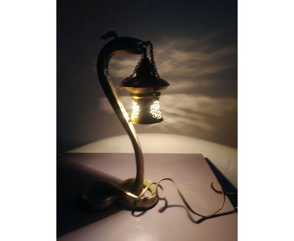 Lampe cobra Art Deco