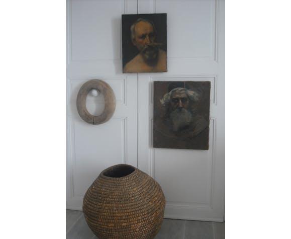 Portrait en buste 40 x 31 - 19 ème