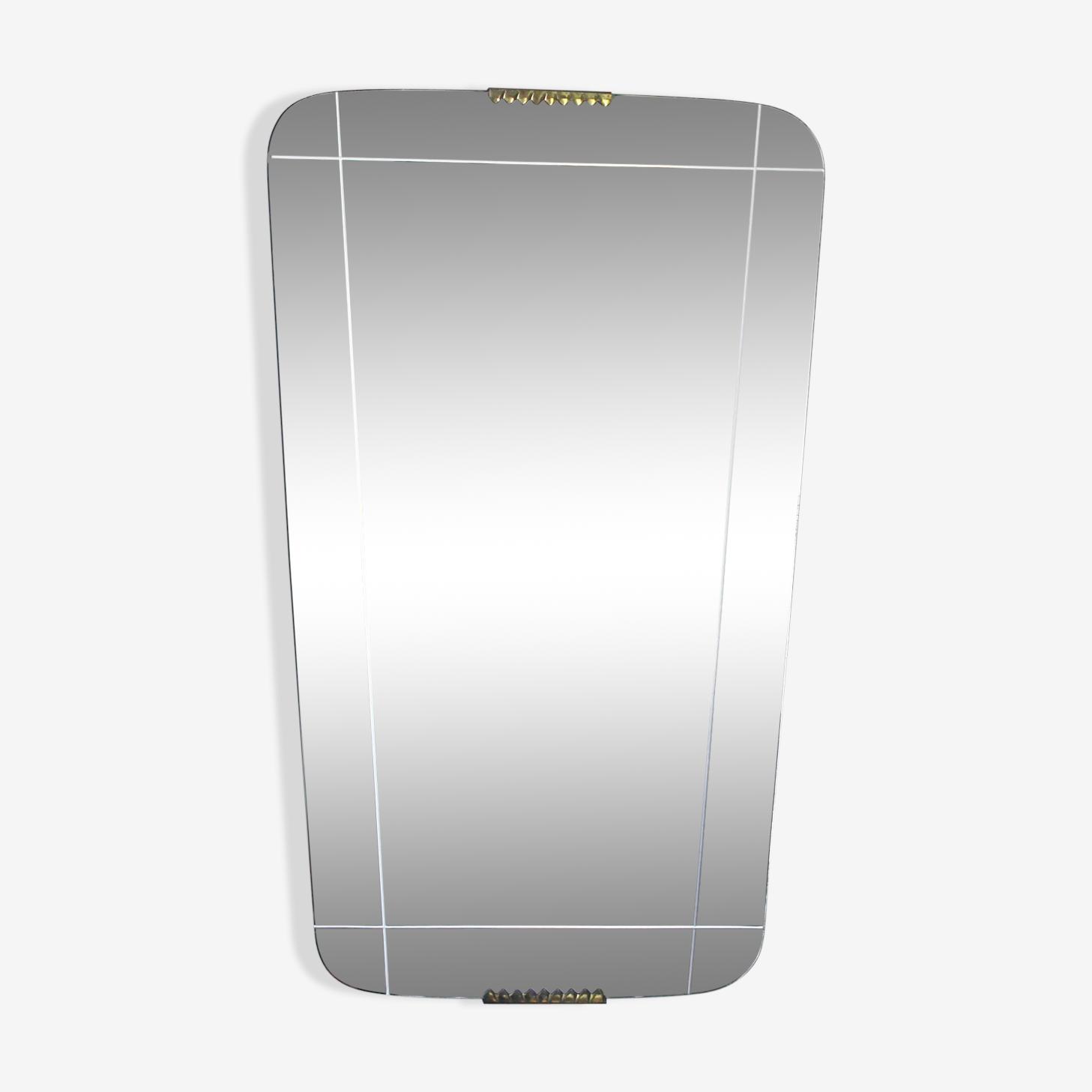 Serious mirror 50s - 33x54cm
