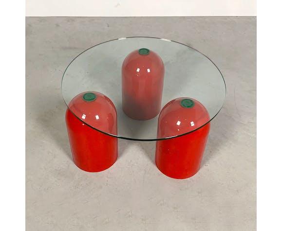 Table d'appoint adjustable par Ambos, 1980