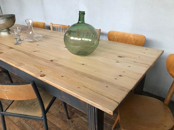 Table de ferme sapin