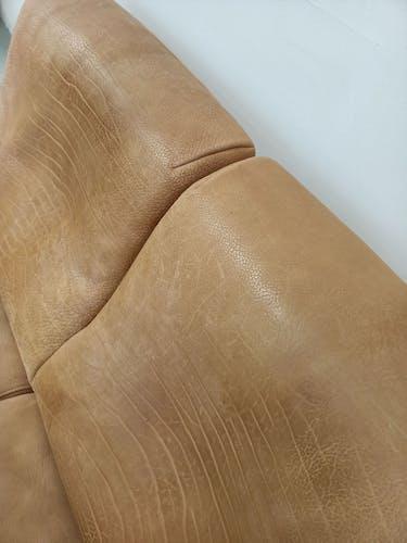 Canapé Molinari en cuir épais de bullhide