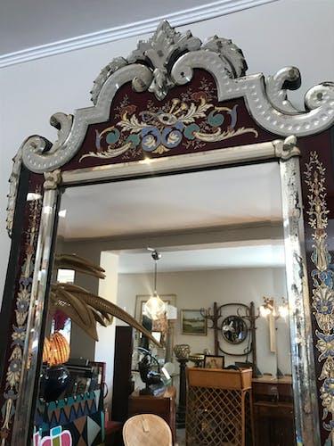 Miroir Vénitien Napoleon III 70x110cm