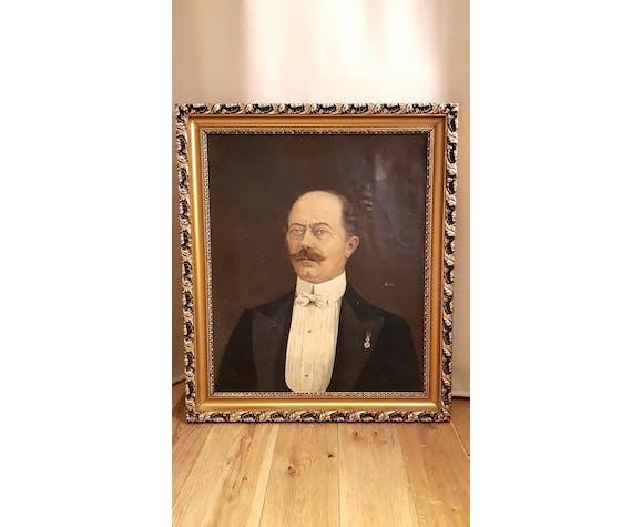 Portrait man at the Legion of Honour 19th century