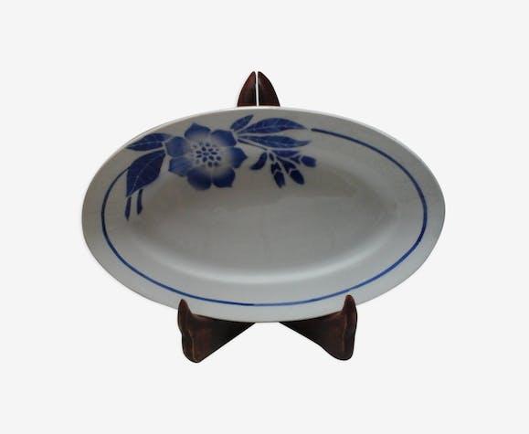 Plat ovale Flore Pexonne