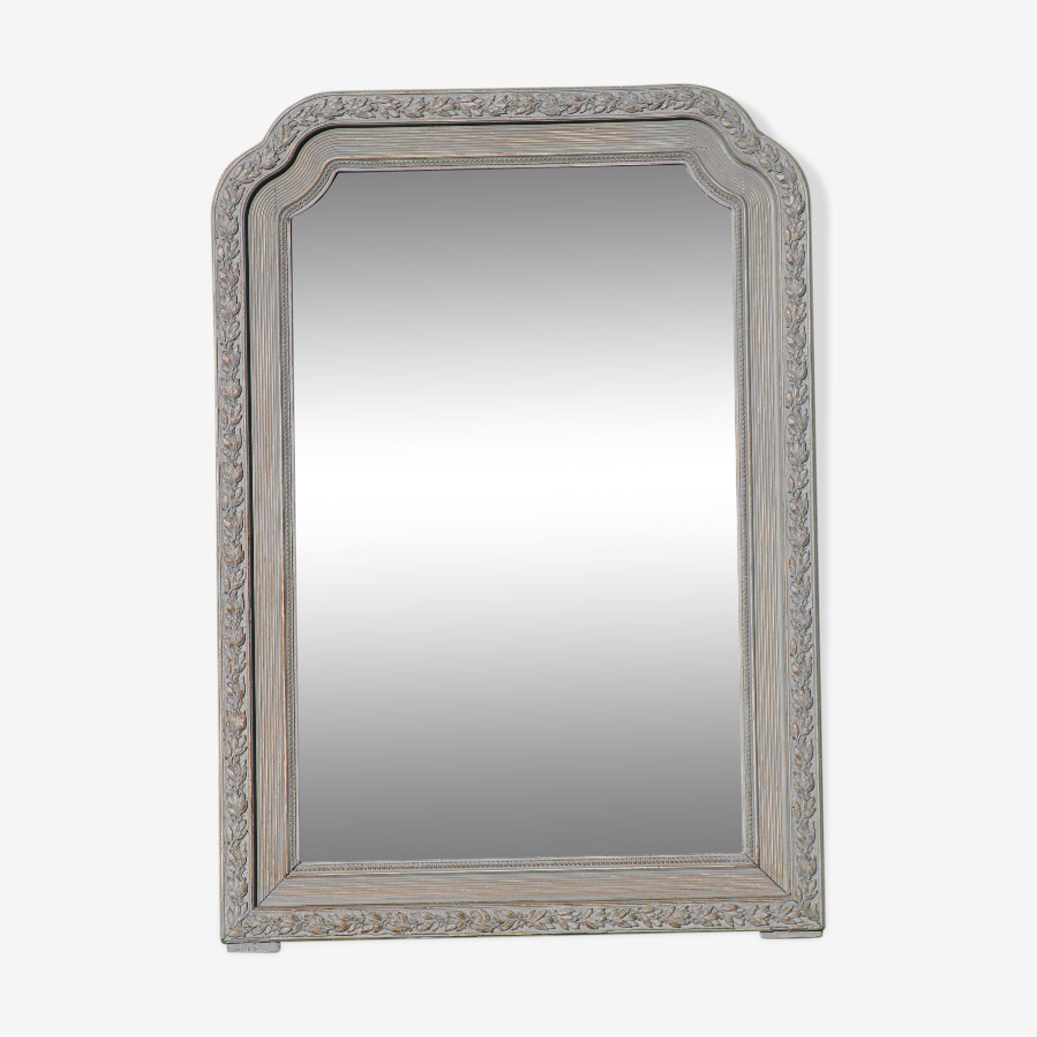 Miroir Louis Philippe Rechampie 72x102cm