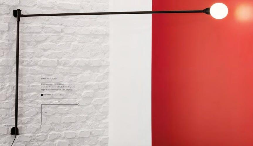 """Applique design nemo """"potence"""" de Charlotte Perriand"""