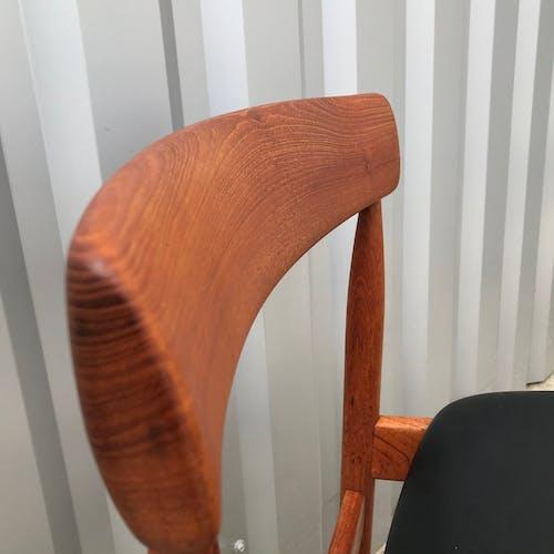 Set de 4 chaises danoises en teck, édition Farso Mobelfabrik 1960
