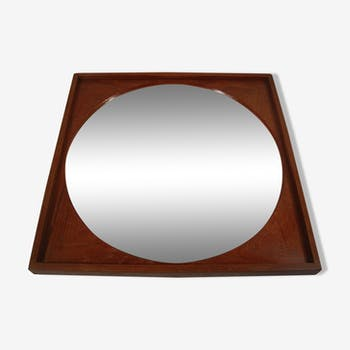 Miroirs scandinaves vintage d 39 occasion for Miroir rond antique