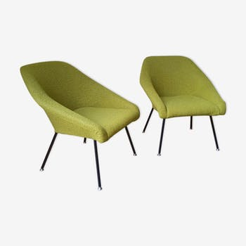 Set of 2 chairs 50 60 year cocktails