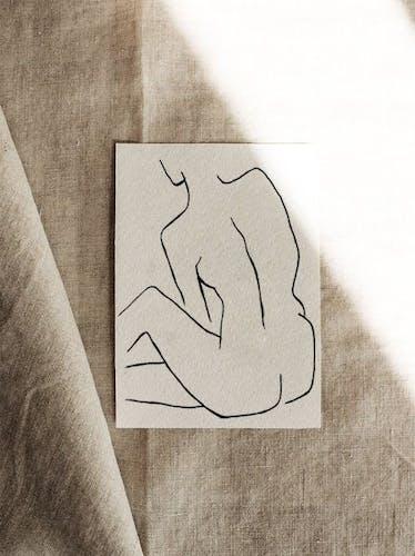 Illustration Temps pour moi - 30x42cm