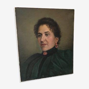 Portrait of a 19th woman