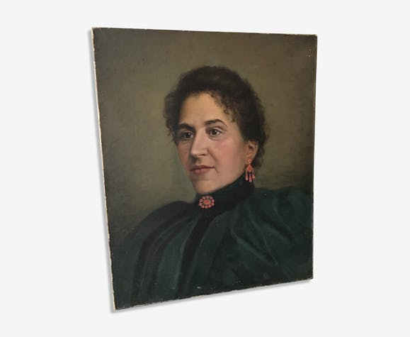 Portrait of a 19th woman
