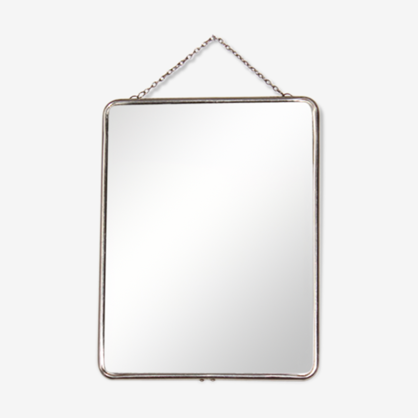 Barber chained mirror 27 x 21 cm