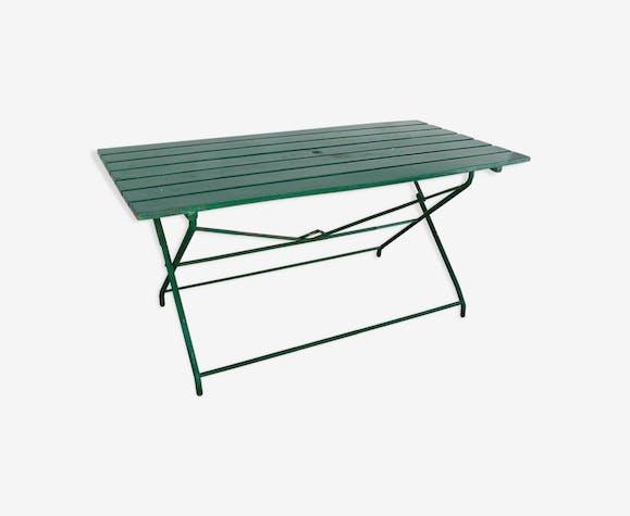 Table de jardin pliante