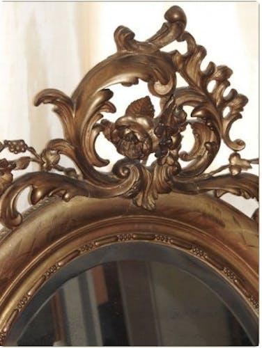 Mirror framing Golden time Napoleon III