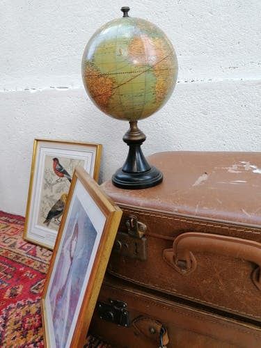 Globe ancien weber costello