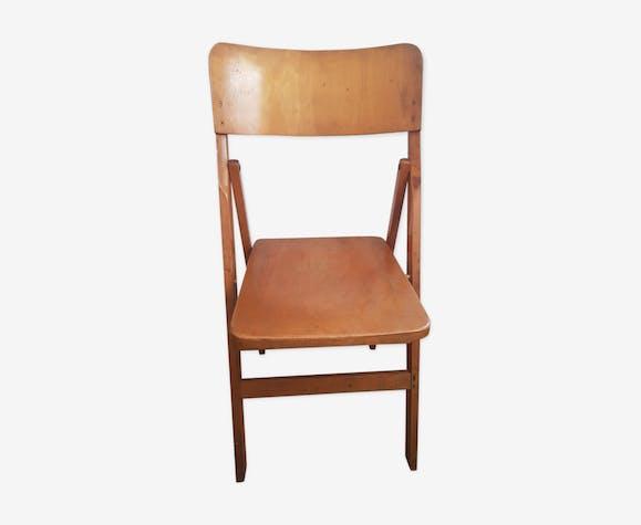 Chaise pliante années 50