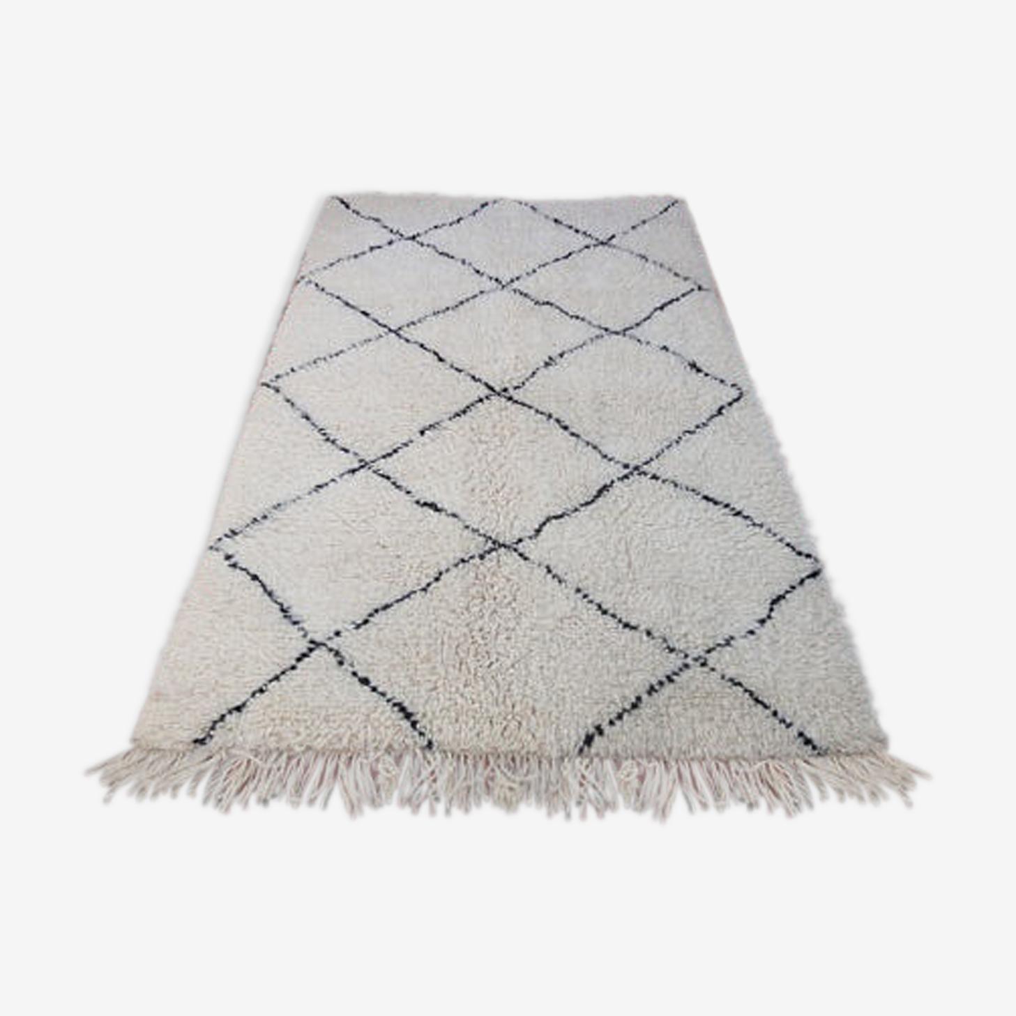 Carpet beni ourain 187 x 114 cm