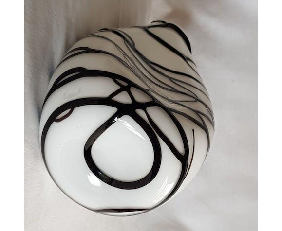 Etno collection vase design en verre de Murano signé Nason & Moretti