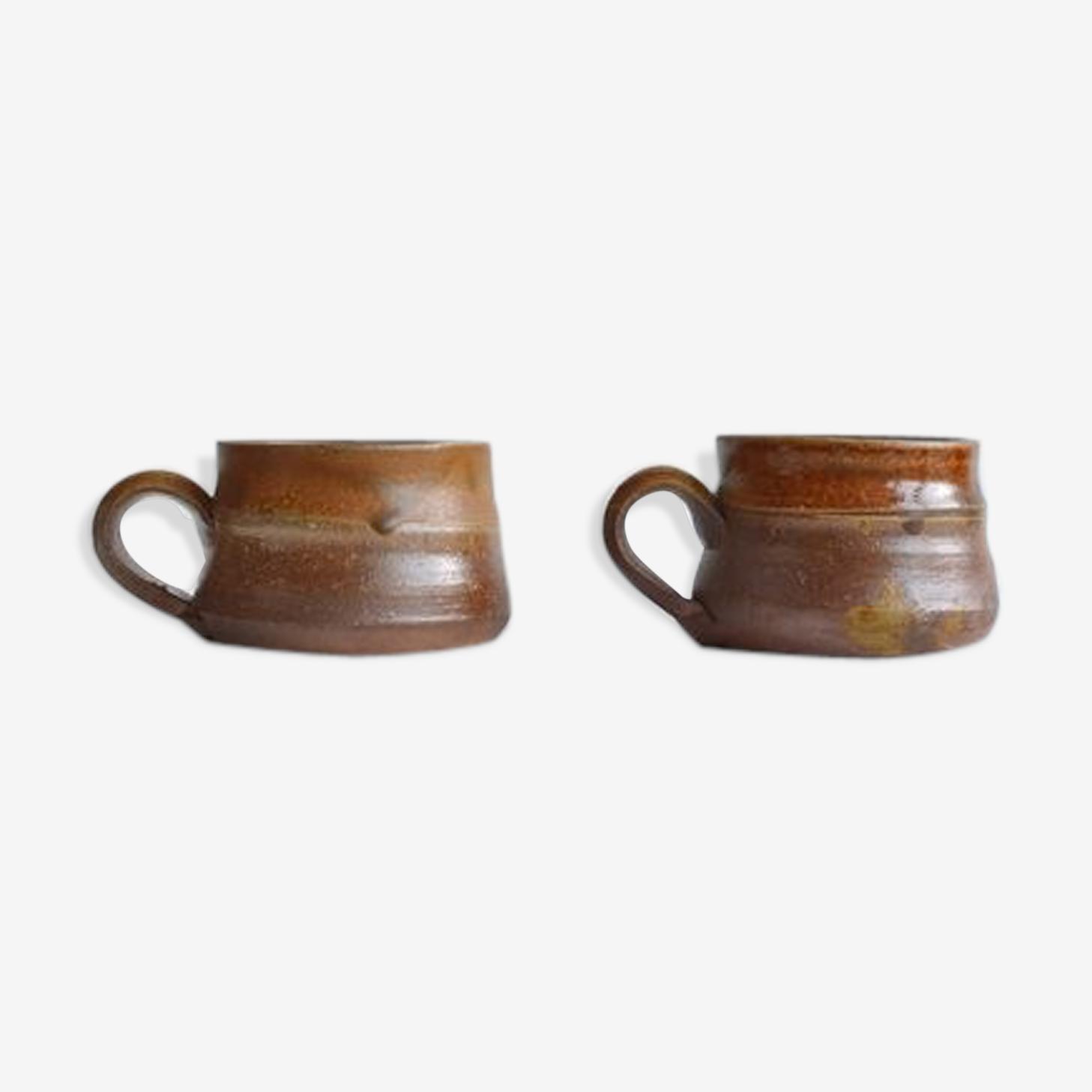 Paire de tasse de café