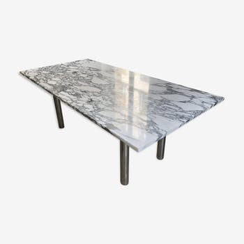 Table dining room marble 70s