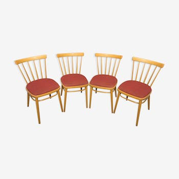 Set of 4 chairs designed by J.Kobylka 1960s