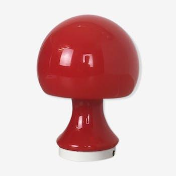 Lampe de bureau champignon en verre des années 60 de Peill & Putzler, Germany