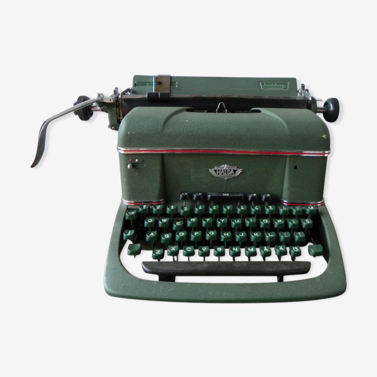 Typewriter Halda, 1955