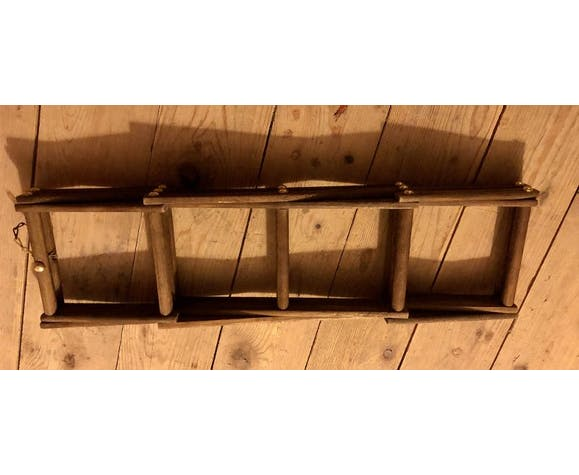 Porte bouteille pliable accordéon