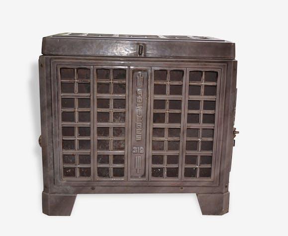 po le bois ancien rosi re 319 fonte classique 107954. Black Bedroom Furniture Sets. Home Design Ideas
