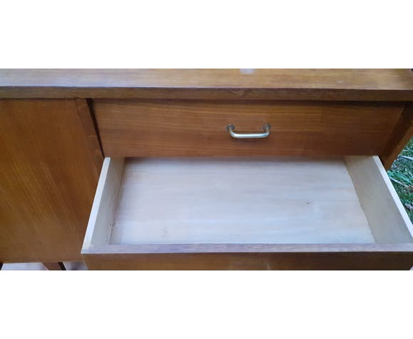 Commode quatre tiroirs une porte