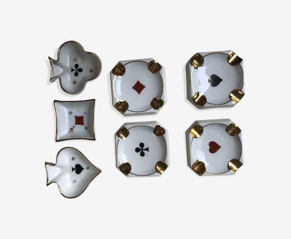 Set of Limoges cups