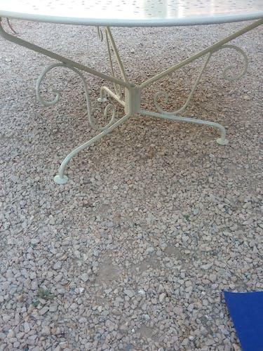 Table basse d'extérieur